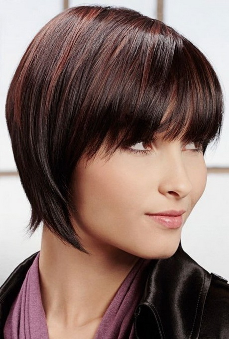 Short hair styles for fat faces