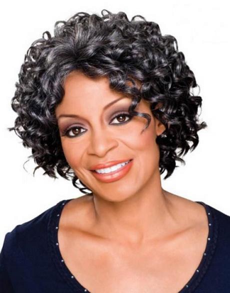Short Haircut For Black Women Over 50