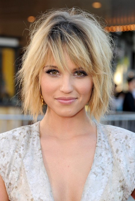 shorter haircuts with bangs haircuts with bangs and layers 3341