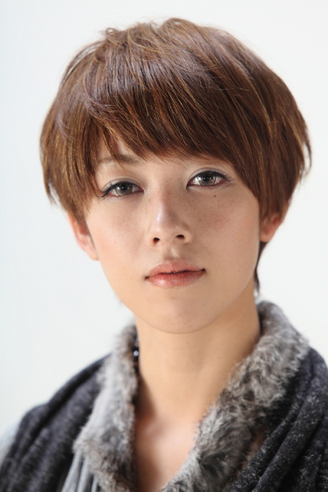 asian Short hair styles for