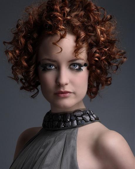 Short perm hairstyles