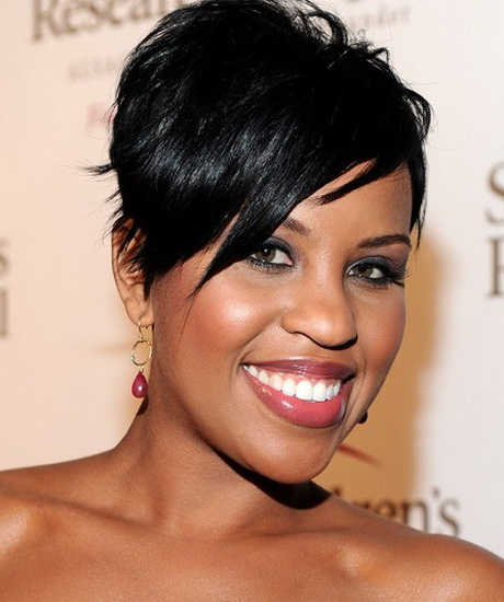 Short Wrap Hairstyles For Black Women