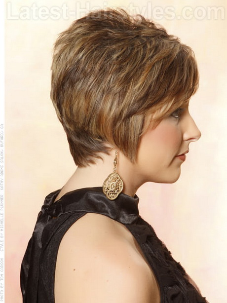 Side And Back View Of Pixie Haircuts