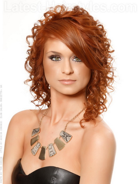 simple curly hair styles simple curly hairstyles 9003