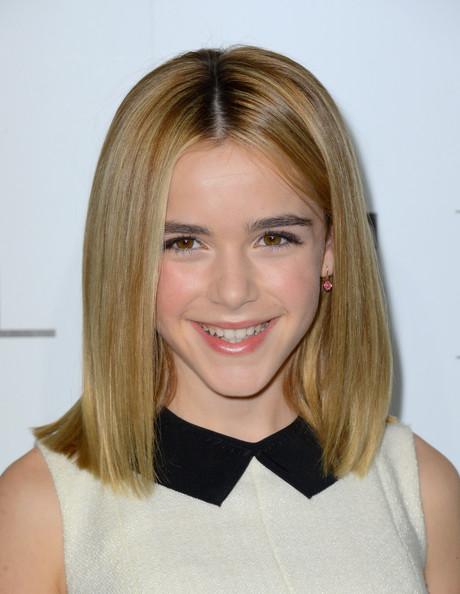 Straight medium length hairstyles