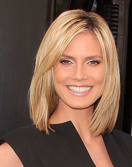 Straight shoulder length hairstyles