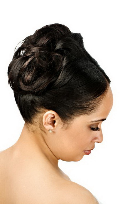 Updo Black Hairstyles For Weddings