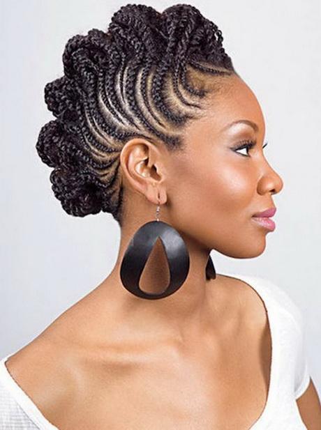 Updo braid hairstyles for black hair
