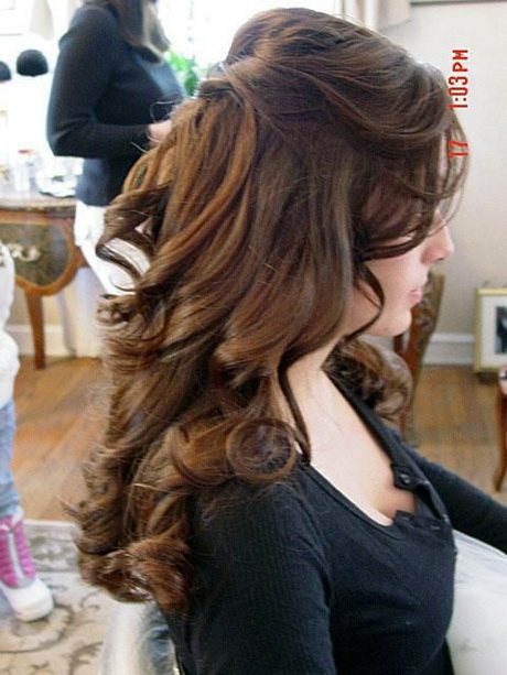 half up do hair styles wedding hairstyles for hair half up half 3786
