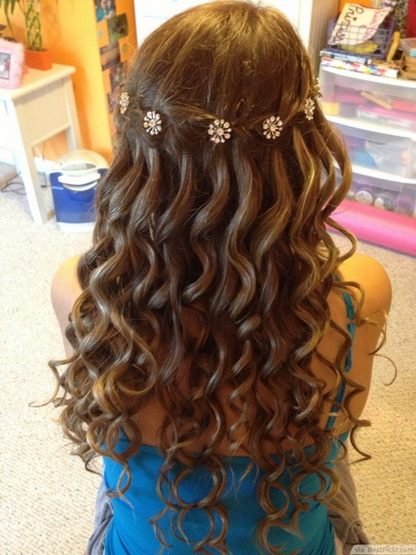 Hairstyles for Prom with Braids and Curls