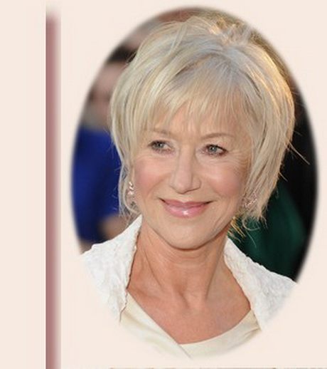 Hairstyles for mature women over 60