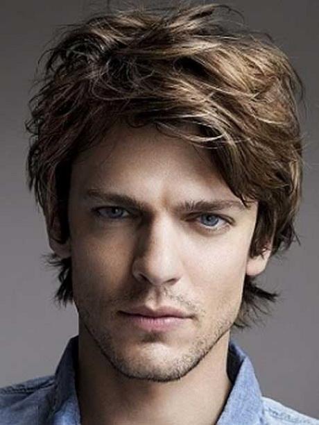 Long layered haircuts for men