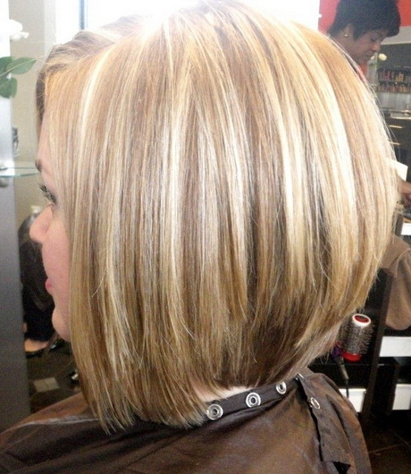 Stacked Medium Length Haircuts