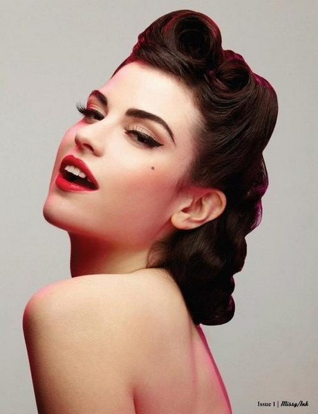 makeup and hair style 1950s hairstyles 5269