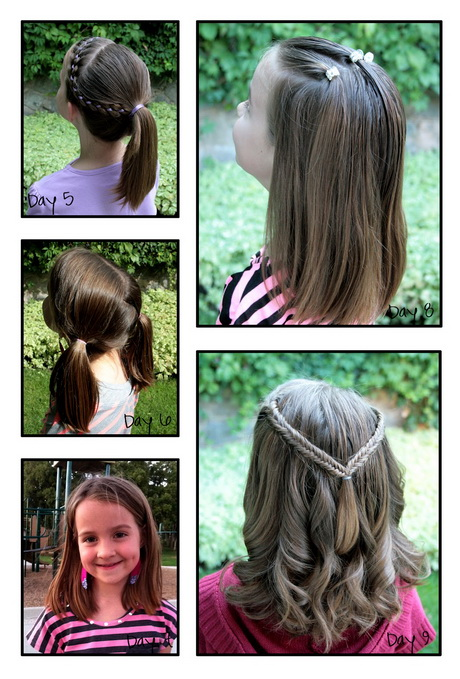 Hairstyles 9 Year Olds