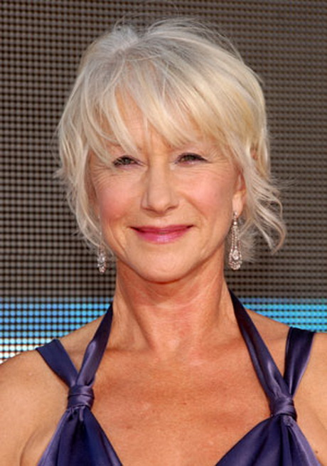 helen mirren hair styles hairstyles for gray hair 60 8633