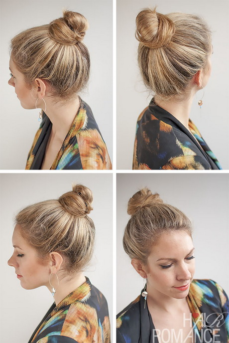 hair knot style hairstyles knots 5285
