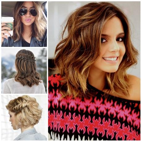 Curly medium length hairstyles 2017