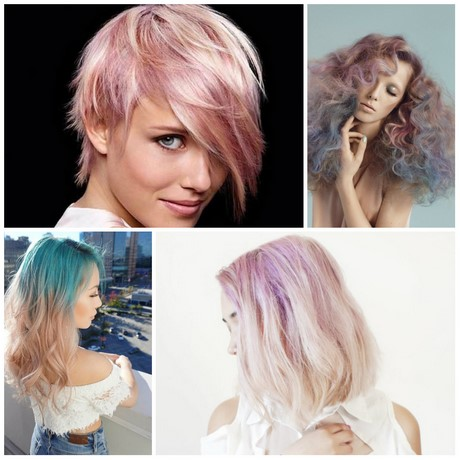 Hairstyles and colours 2017