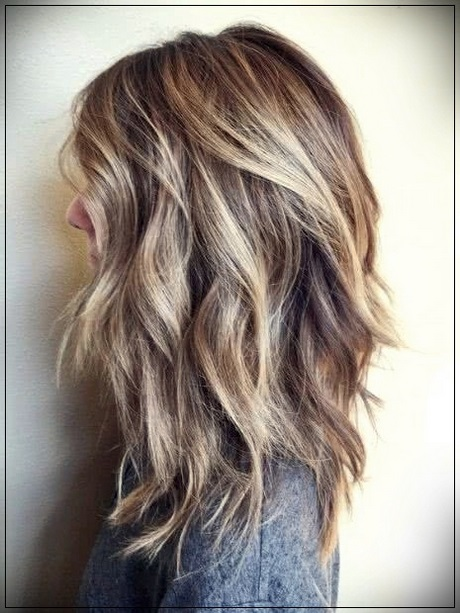Medium length layered haircuts 2020