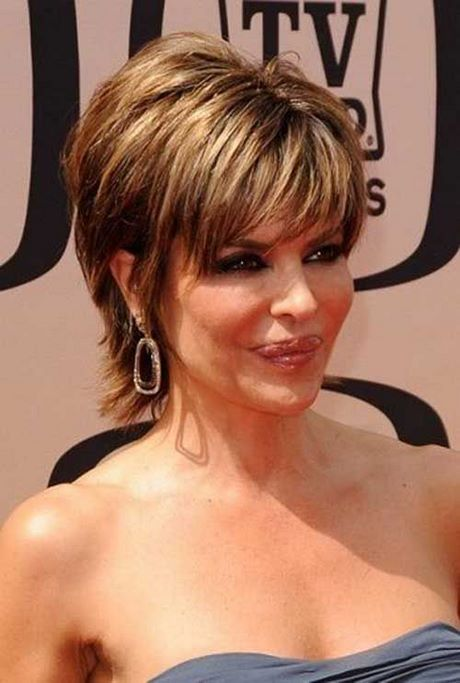 Short haircuts for women over 50 in 2020