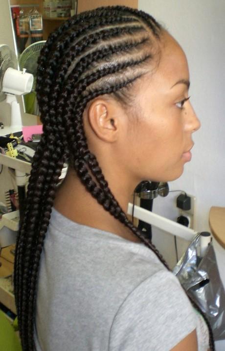 Cornrows and braids