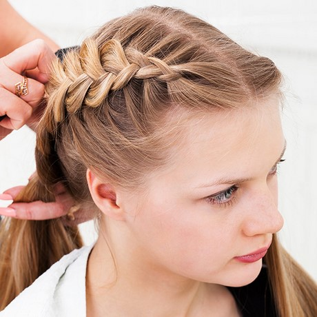 easy hair braiding styles simple braided hairstyles 7722
