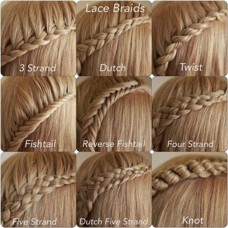how to braid hair in different styles different kinds of braiding hair 8389