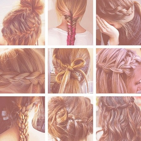 different style plaits