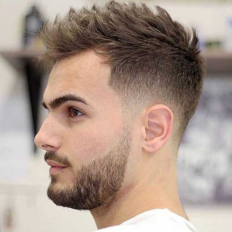Creative Good Haircuts For Men  Short Sides With Tousled Hair