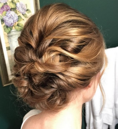 Bridesmaid Updo Hairstyles For Medium Hair