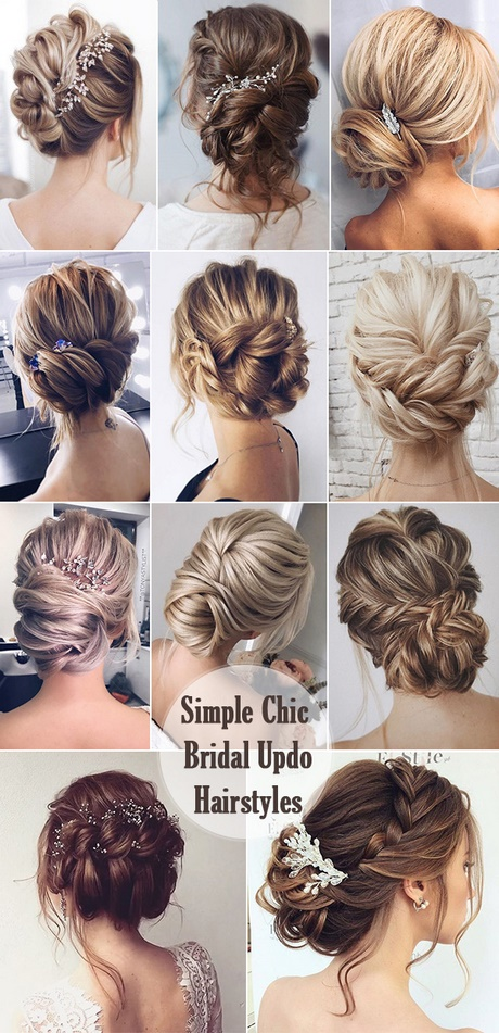simple wedding hair style simple wedding hairstyles for bridesmaids 5042