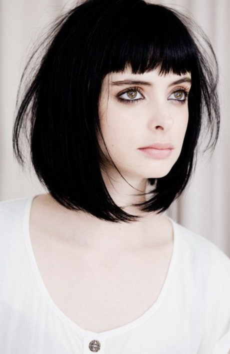 shorter haircuts with bangs layered haircuts with bangs 2016 3341