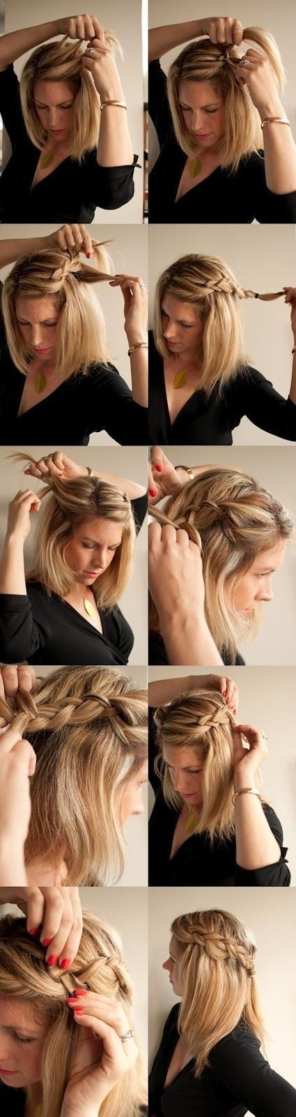 easy hair styles to do at home easy to do at home hairstyles 6257