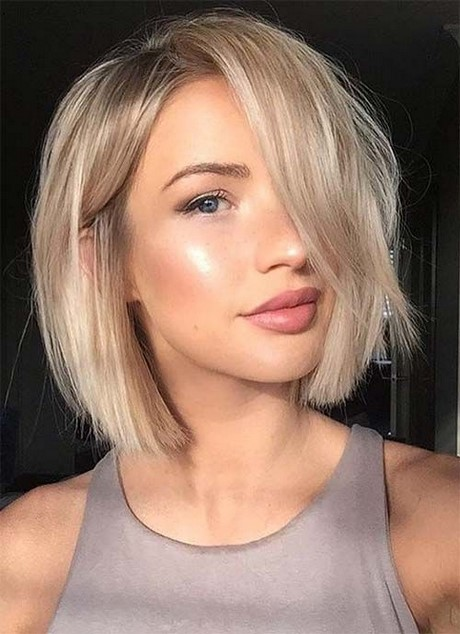 Trendy Short Blonde Hairstyles 2013