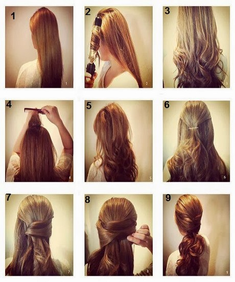 Simple And Easy Hair Style