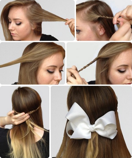 Super easy hairstyles for beginners