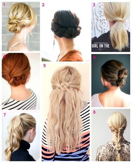 Most Easy Hairstyles