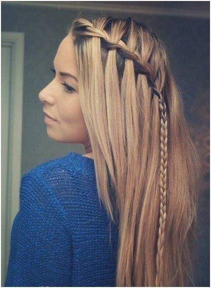 Quick and easy hairstyles for long hair straight hair - photo#43