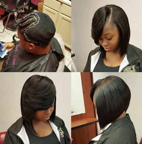 short black weave hairstyles 2019