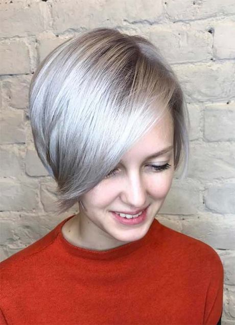 Short hairstyles for young ladies