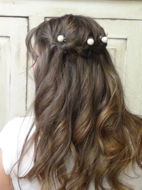 Junior prom hair