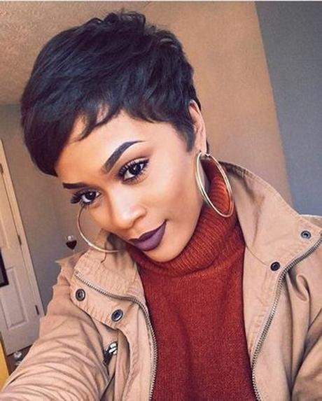 Short Haircuts Black Females 2018