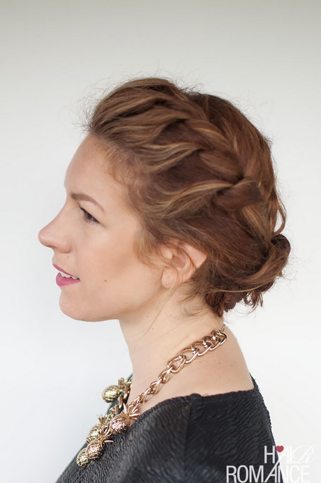hair casual styles casual updos for thick hair 6142