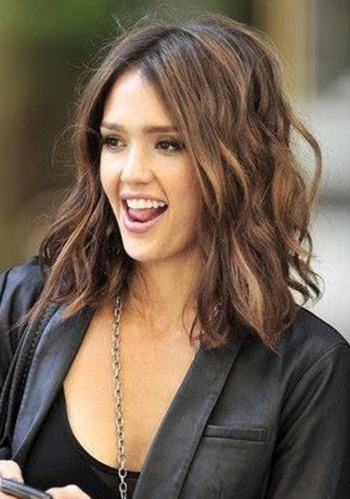 Just Past Shoulder Length Hairstyles