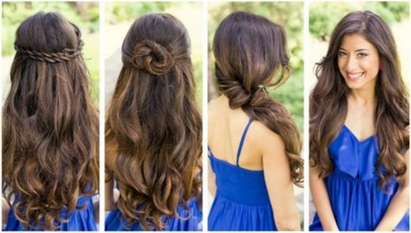 simple easy hairstyles for long straight hair