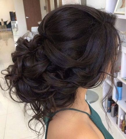 Updos For Long Thick Hair Wedding
