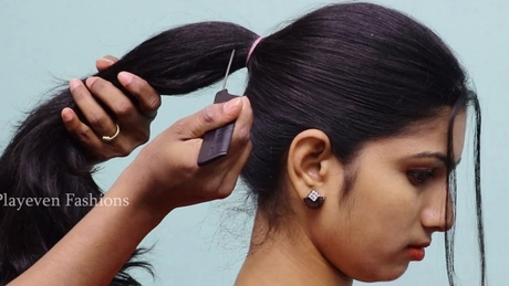 New and simple hairstyle
