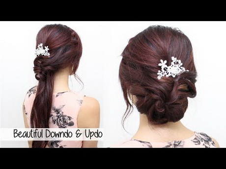wedding dinner hair style hairstyle for wedding dinner 8360