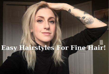 easy styles for fine hair easy haircuts for thin hair 5002 | easy haircuts for thin hair 73 14